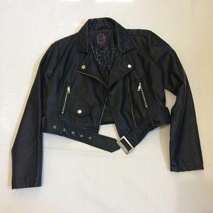 Dollhouse Jackets & Blazers - NWOT Dollhouse Crop Moto Jacket