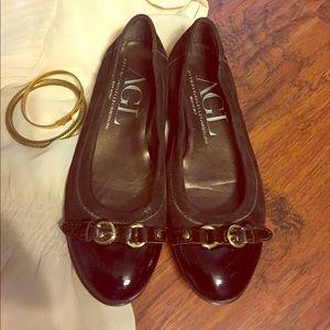 Attilio Giusti Leombruni Shoes - AGL Italian Leather Flats