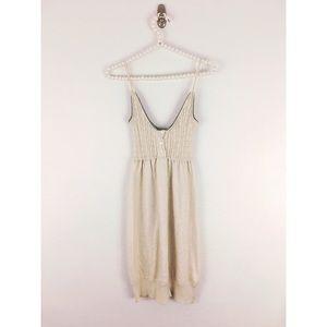 James Perse Dresses & Skirts - James Perse Linen Cable Knit Slip Dress Sz 1/Sm