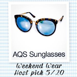 AQS Accessories - AQS AquaSwiss Oversized Round Sunglasses