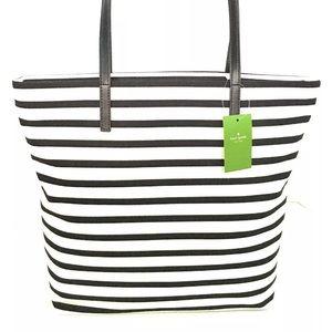 kate spade Handbags - Kate spade striped tote nwt