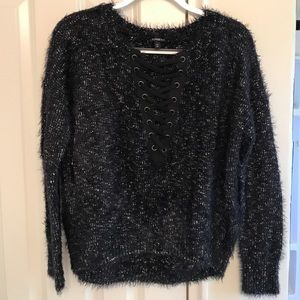 Express Sweaters - Super soft navy blue sweater