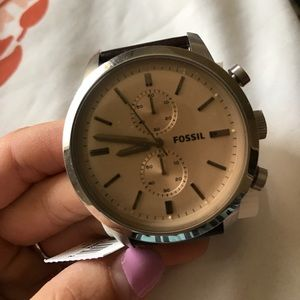 Brown Leather Fossil Watch BRAND NEW