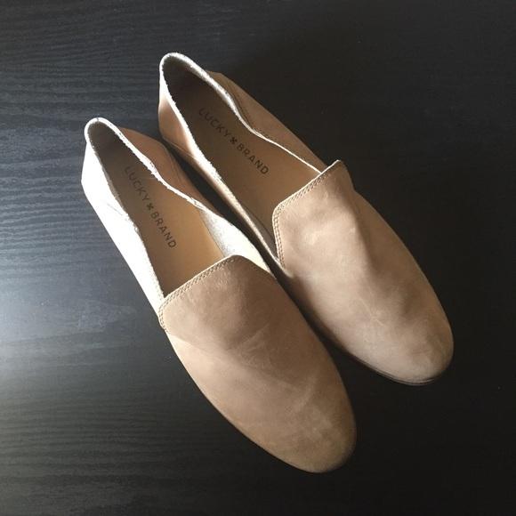 Lucky Brand Cahill Deconstructed Flats Women's Shoes 5vTk2PJvr2