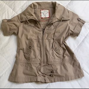 Sonoma Jackets & Blazers - Sonoma Khaki Jacket, CUTE as a Button! Size L