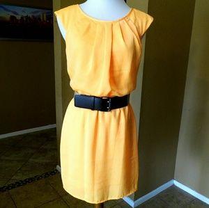City Triangles Dresses & Skirts - Day Glo Orange Dress