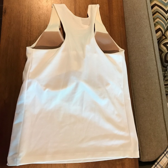 80 Off Athleta Tops Athleta Workout Tank With Built In