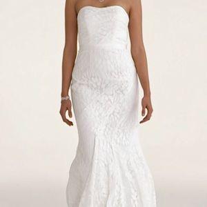 Davids Bridal Dresses & Skirts - ❤SALE!!! White Lace Wedding Dress