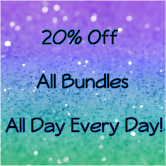 Tops - 20% Off All Bundles from 6 Closets!