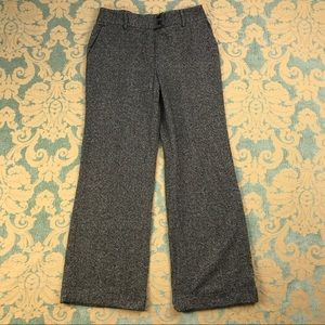"Kate Hill Pants - Cuffed Tweed Trousers 🌺 31"" Inseam Wide Leg"