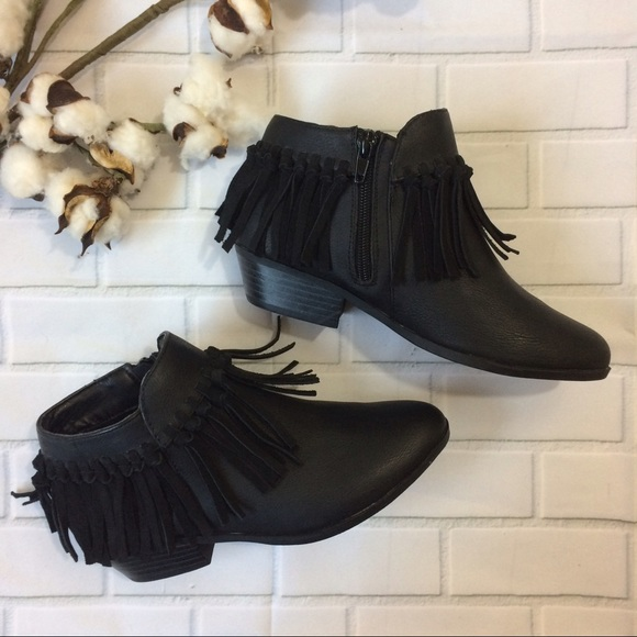 a3d5b81639f1b3 ... Petty Zoe Fringe Bootie 2. M 591c89de36d594701a1aec90. Other Shoes you  may like. Sam Edelman girl boots