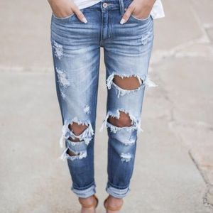 vici collection Denim - Brand new Destroyed jeans