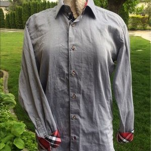 Jared Lang Other - Jared Lang plaid cuff long sleeve button up shirt
