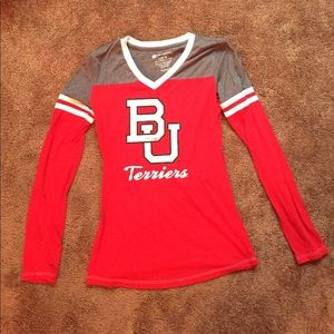 Colosseum Tops - Boston University long sleeve tee