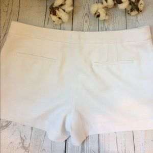 Armani Exchange Pants - Armani Exchange White Textured Shorts Size 6