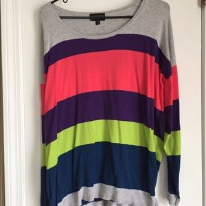 Lane Bryant long sleeve colorful shirt! EUC!