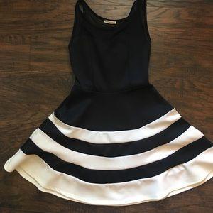Classy striped dress
