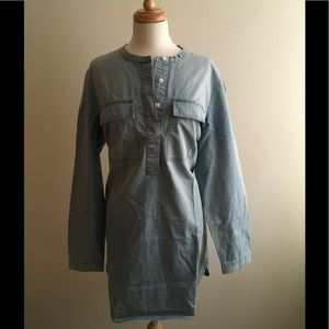 J. Crew Factory Dresses & Skirts - J. Crew Light Indigo Shirtdress