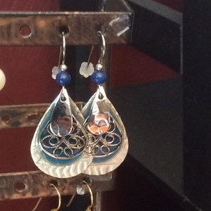 Maverick Collections Jewelry - Sterling Silver Layered Earrings