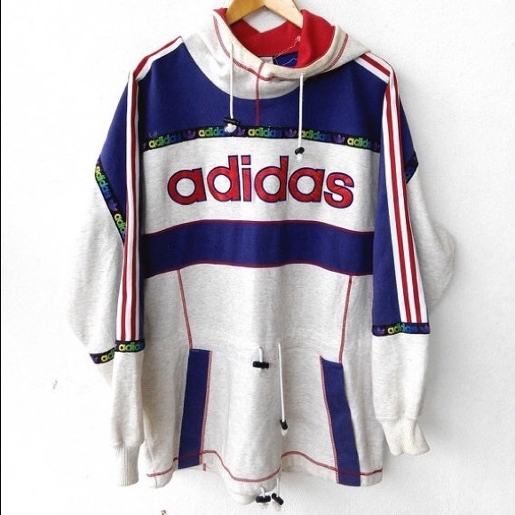 Adidas - VINTAGE Adidas Japan Sweatshirt Hoodie from Ashley's ...