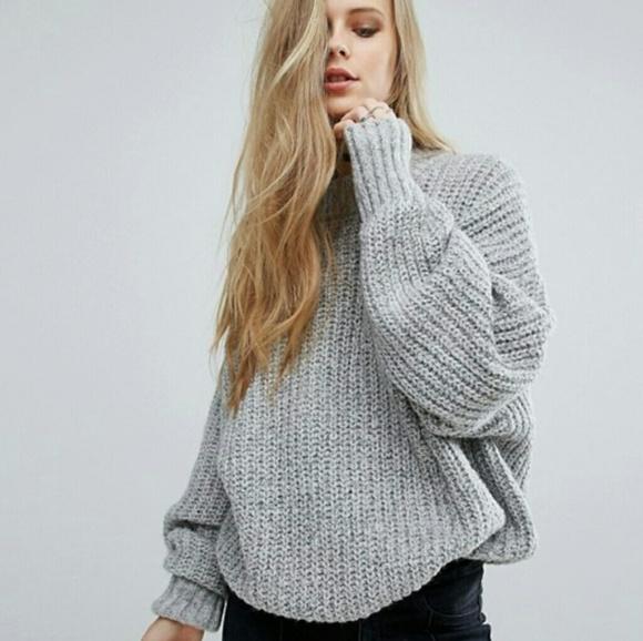 ASOS Sweaters - Asos  Pull   bear grey sweater 818682dfe