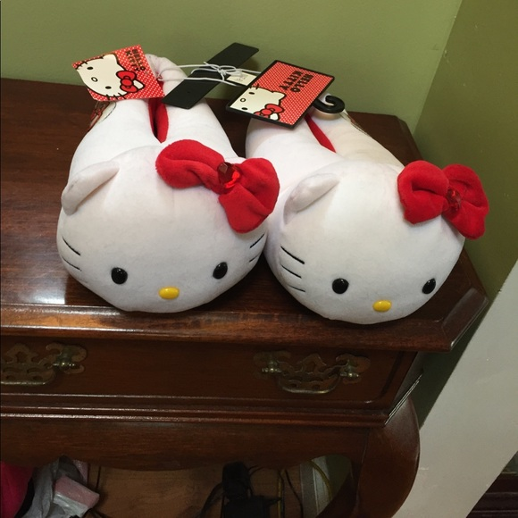 from Omar hello kitty adult shoes