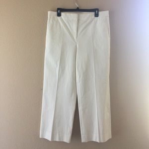 J.crew TALL patio pant bi-stretch cotton,Size 12