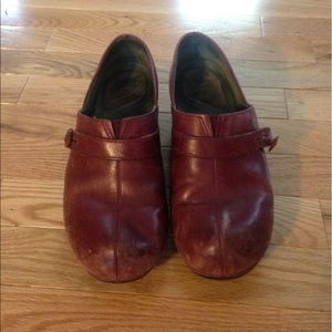 Dansko Shoes - Well loved Dansko clogs
