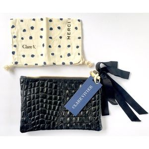 Clare Vivier Handbags - Clare V. (Vivier) clutch (NWT!)