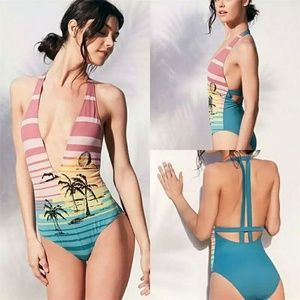 Other - 1 left Medium Mia Monokini One Piece Swimsuit