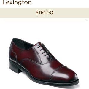 Florsheim Other - Florsheim Lexington Cap toe shoes size 10.5 3E