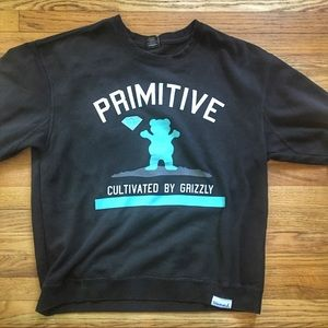 Diamond Supply Co x Primitive x Grizzly  Cultivated T-Shirt Men/'s Large.