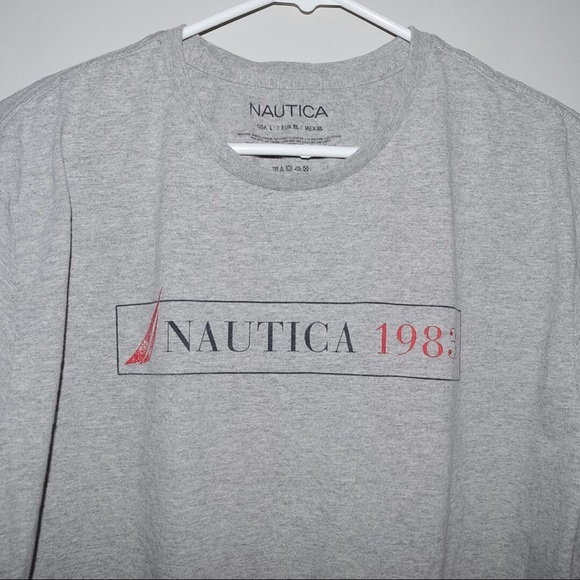 Nautica Rare Vintage Nautica Spell Out Tee 2003 From