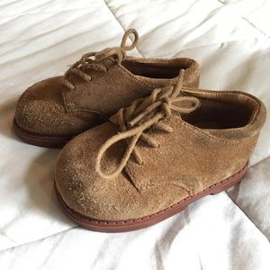 Jumping Jacks Other - Toddler boys suede shoes