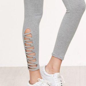 Bewitched Boutique Pants - 💥Last Pair 💥criss cross capri athletic leggings