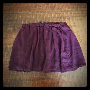 Brandy Melville Plum Mini Skirt OneSz