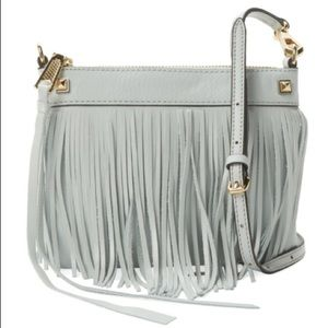 Rebecca Minkoff Handbags - Rebecca Minkoff Fringe Mini Leather Crossbody