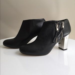 Dolce Vita Shoes - Dolce vita black with metallic heel boots