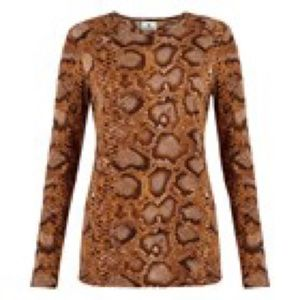 Altuzarra For Target Tops - NWT Altuzarra for Target Python Long Sleeve Shirt