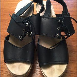 Loeffler randall sandal clogs size 37