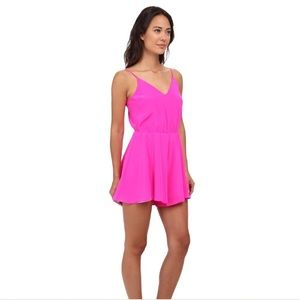 Amanda Uprichard Dresses & Skirts - Amanda Uprichard Circle Short Romper (P)