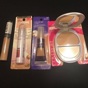 Maybelline Other - Light/Medium Concealers & Powder. New