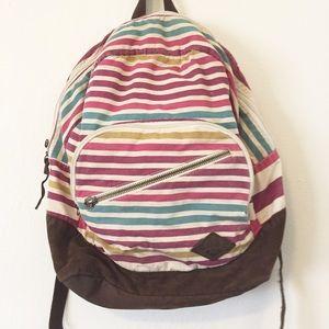 Roxy Handbags - Striped Roxy Backpack