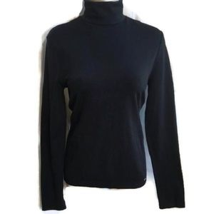 Wolford Tops - Wolford Black Turtleneck Top L