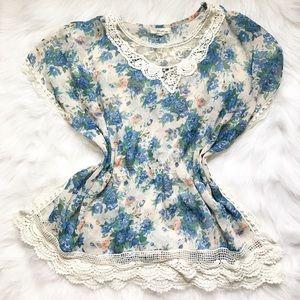 Pastels Clothing Tops - Flower shirt