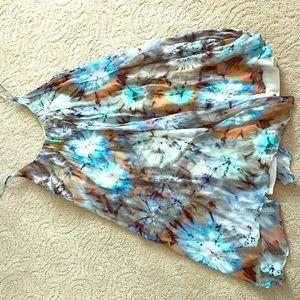 Colorful sheer Zara dress