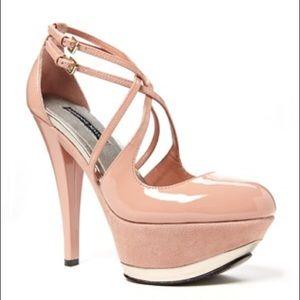 Adrienne Maloof Shoes - Nude Adrienne Maloof beautiful heels