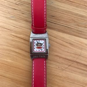 Paul Frank Accessories - Paul Frank red watch