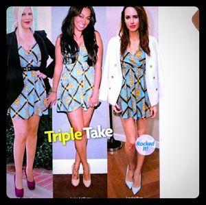 NWOT Kardashian Kollection Chain Print Dress.XS.