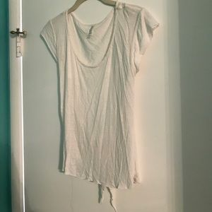 Cute white free people top